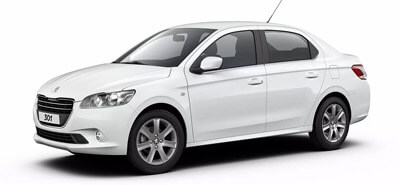 location Peugeot 301 AUTOMATIC Marrakech